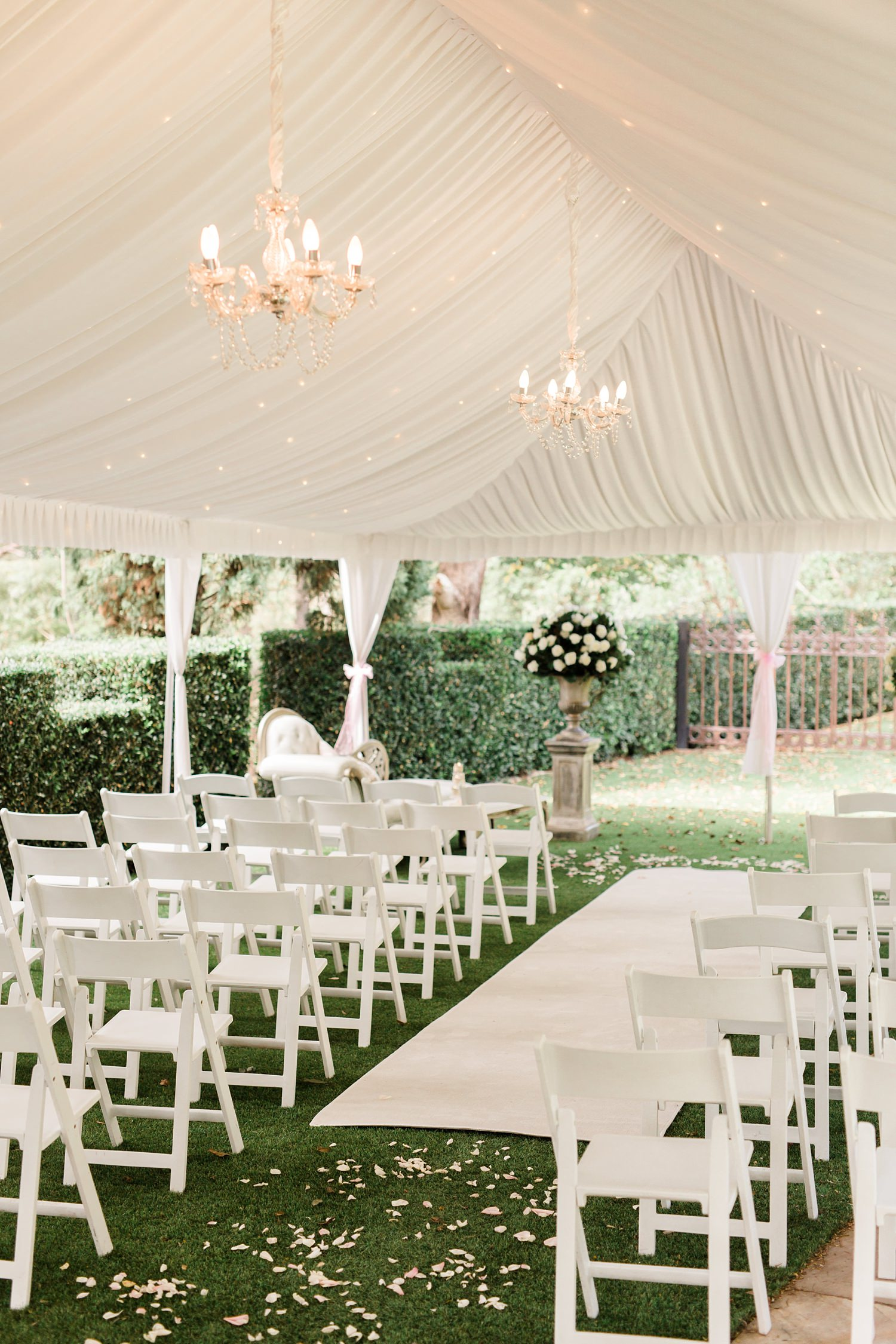 evegreen garden venue versace wedding