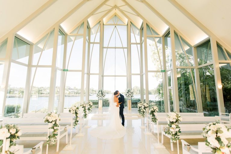 Intercontinental Sanctuary Cove Wedding