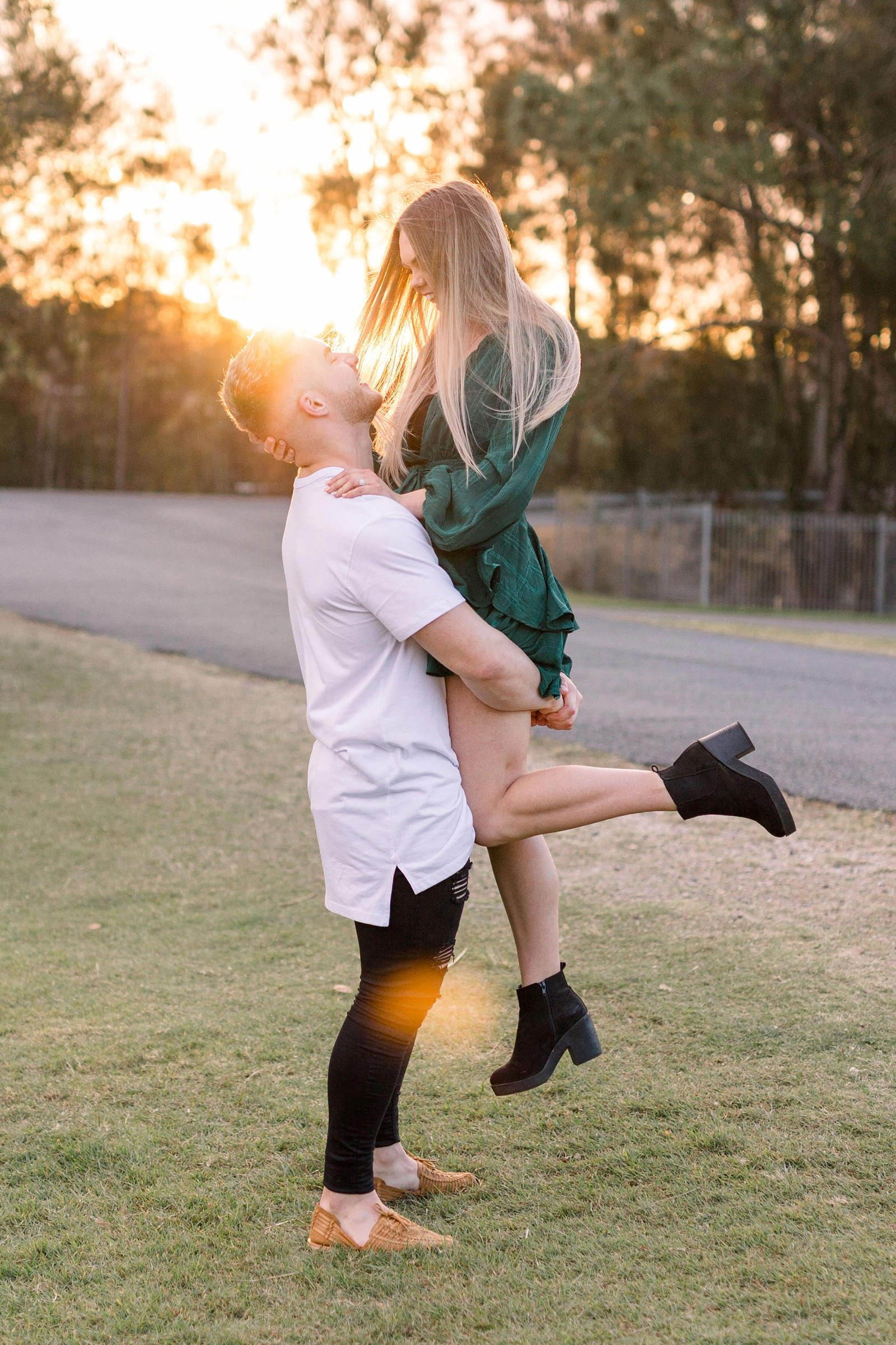 Gold Coast Engagement Photography Pizzey Park